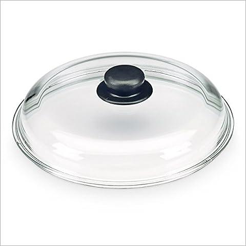 Tapa de cristal Para cazuelas y sartenes Con agarradera