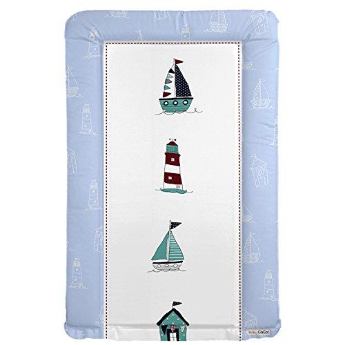 Blue Sailing Theme Changing mat by Baby GaGa