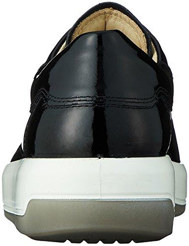ECCO Soft 9, Sneaker Basse Donna Nero (Black 4001)