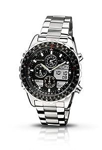 Accurist MB775B - Reloj de cuarzo para hombres, color negro de Accurist
