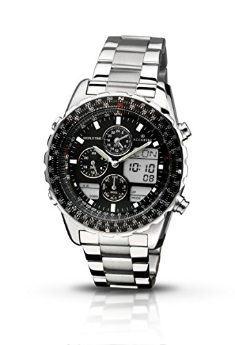 Accurist Herren-Armbanduhr Chronograph Quarz MB775B
