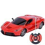 FOLOWE Fernbedienung Elektroauto Modell Kid Weihnachten Spielzeugauto Kinder Geschenk (2 Kanu00e4le)