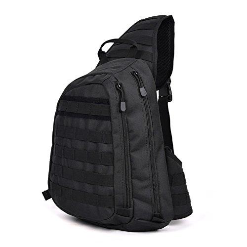 Herren Outdoor-Chest Pack/Ride Sport Tasche Schultertasche/Wander Rucksack C