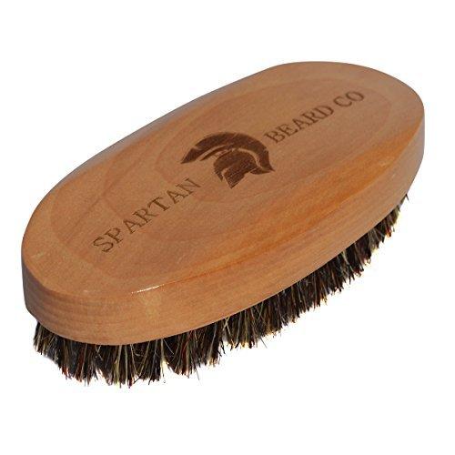 Pennello da barba in legno Spartan barba...
