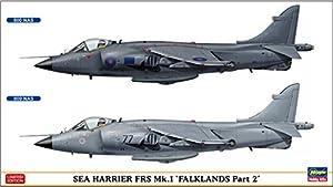 Hasegawa 0022531/72Sea Harrier FRS MK 1, Falk Lands, Part 2, 2Juegos diseño plástico Maqueta de, Modelo Ferrocarril Accesorios, Hobby, de construcción