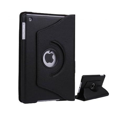 A-1-Qualität Apple neues iPad Air Ipad 5 (2013) 360-Grad-Drehung Schwarz horizontal & vertikal anzeigen Leder-Abdeckung für Apple neues Ipad Air Ipad 5 (2013) durch G4GADGET®