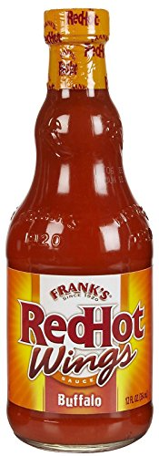 Frank's Red Hot - Wings Sauce - Buffalo - 354ml (case of 3) 3 Buffalo
