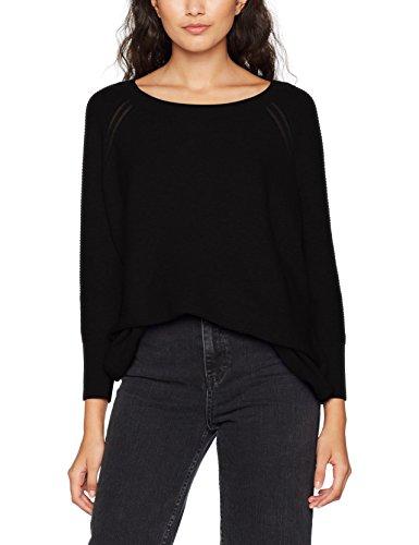 Vero Moda, Felpa Donna Nero (Black Black)