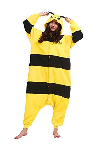 Imagen de magicmode unisex novedad cosplay pijama enterizo de disfraces de adultos sudadera con capucha kigurumi pijamas vestido de fiesta la miel de abeja l alternativa
