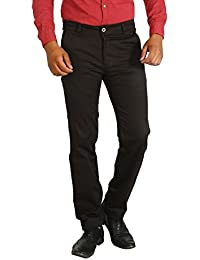 Basilio's SuperFine Cotton Men's Formal: : Semi Casual Trouser - B071Y6PVRK