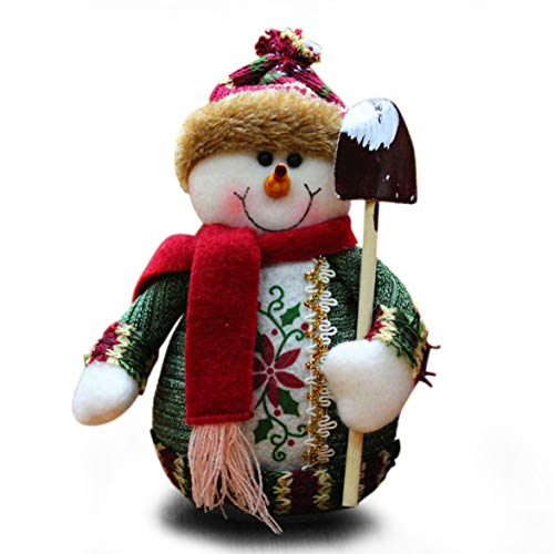 Kongqiabona Christmas Theme Ornaments Home Decor Party Table Decoration Standing Dolls Velvet Toys for Kids Gift Festival Supplies (Before Party Christmas Supplies Nightmare)
