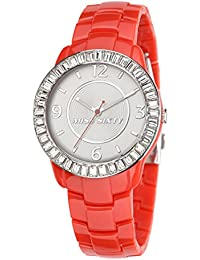 Miss Sixty R0753118504 - Reloj de pulsera para mujer, gris / plata