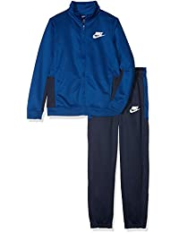 Nike B Nsw Trk Pac Poly Chándal, Niños, Azul (Gym Blue/Obsidian/Gym Blue/White), L