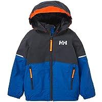 Helly Hansen SOGN Jacke Chaqueta para niños, Infantil, Sonic Blue, 1