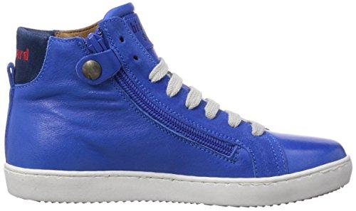 Bisgaard Shoe with laces Unisex-Kinder Hohe Sneakers Blau (26 Cobalt)