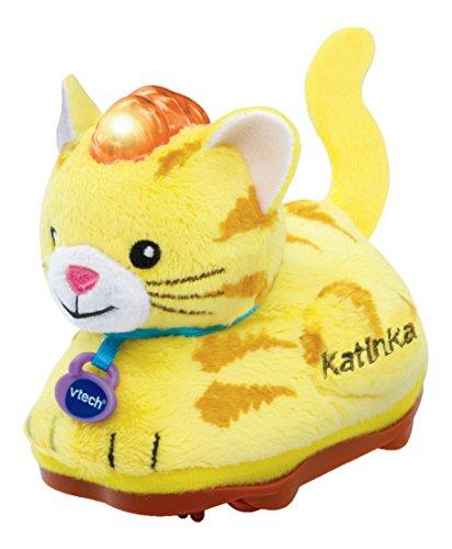 - Tip Tap Tiere - Plüsch-Katze, gelb ()