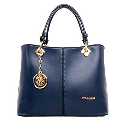 GBT 2016 Neuer Temperament-Handtaschen-Art- und Weiseluxuxhandtaschen-Schulter-Beutel Blue