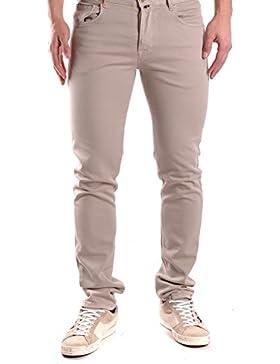 Pt05 Hombre MCBI247026O Beige Algodon Jeans