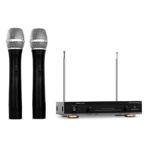 Auna FU-2B kit 2 microfoni wireless fino a 100m