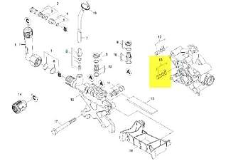 Joint Piston Livre A L Unite Référence : 40301250 Pour Nettoyeur Haute-pression Karcher