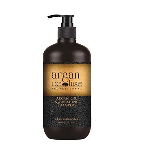 Arganöl Shampoo in Friseur-Qualität ✔ stark pflegend ✔ Geschmeidigkeit, Glanz, toller Duft ✔ Argan DeLuxe, 300ml
