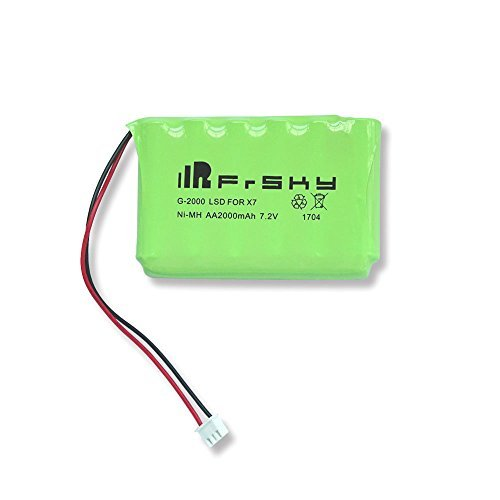 FrSky 2000mAh 7.2V NiMH AA Battery Pack for Taranis Q X7 Transmitter