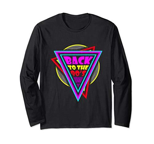 Armee Small Kostüm Retro Girl - I love the 90s Shirt 90er Party Outfit 90er Retro Shirt Langarmshirt
