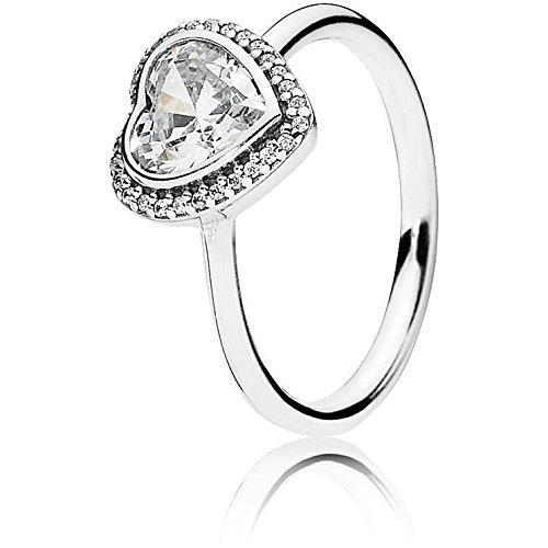 Pandora anello donna onorevoli vita 925argento con zirconi bianchi–190929cz, argento, 50 (15.9), cod. 190929cz-50