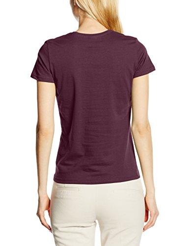 Stedman Apparel Damen T-Shirt Rot (Burgundy Red)