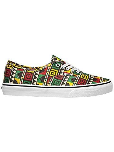 Vans U Authentic , Baskets mode mixte adulte Multicolor (Schwarz/Rasta)