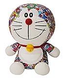 DIVADIS Juguete de Peluche Doraemon | Gato Muñeco de Felpa Colorida con Escenas Impresas del Anime | Fabricado en Tela, Suave, No Tóxico - Decoración o Colección en el Hogar | 25 cm