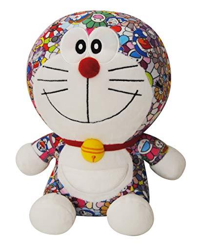 DIVADIS Doraemon Peluche 25 cm | Juguete Muñeco Gato Robot de Felpa Colorida con Escenas Impresas del Anime | Regalo para Bebé