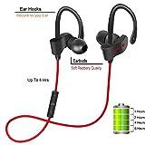 Best Multipoint Bluetooth Headsets - Piqancy Wireless Bluetooth V4.1 Sports Earphones Waterproof Sweat Review