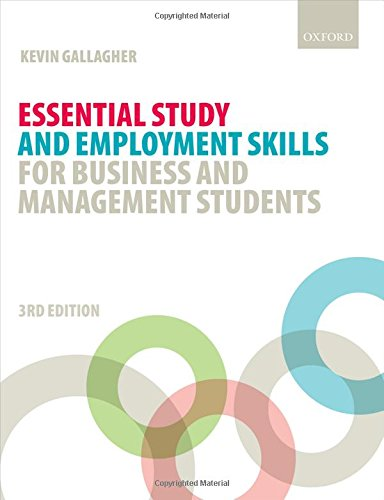 Read Pdf Essential Study And Employment Skills For Business And