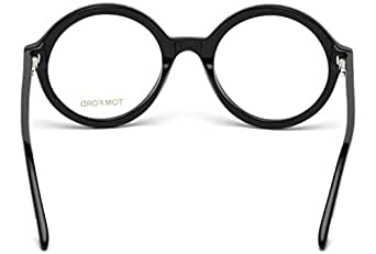 Tom Ford - FT 5461, Rotondo, acetato, donna, BLACK(001), 52/22/140