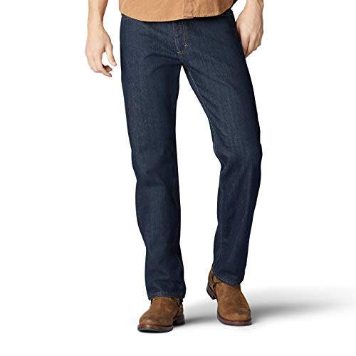 Lee Herren Relaxed Fit Straight Leg Jeans, Zion, 42W / 32L -