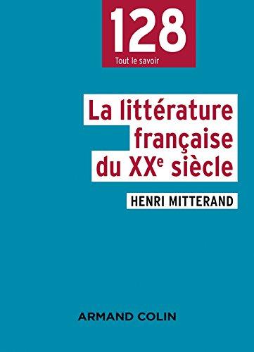 La littrature franaise du XXe sicle - 2e d.