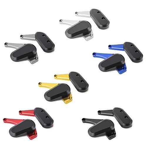 XX eCommerce GSX R 1000 Motorschutz Crash Slider Pad Protection für 2009-2015 S-U-Z-U-K-I GSXR1000 GSXR-1000 2010 2011 2012 2013 (Blau)