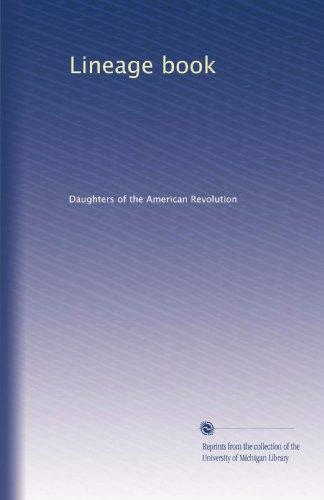 Lineage book (Volume 45)