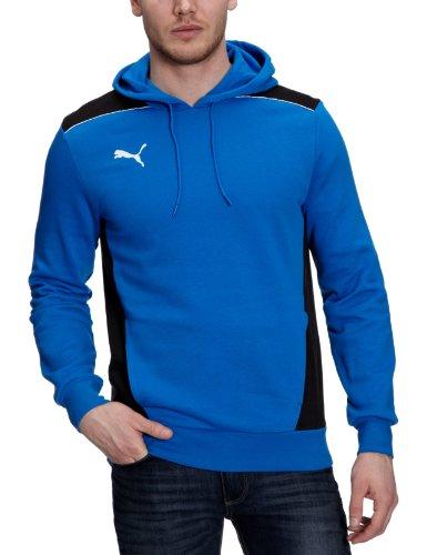 PUMA Herren Sweatshirt Foundation Hooded Puma Royal/Black