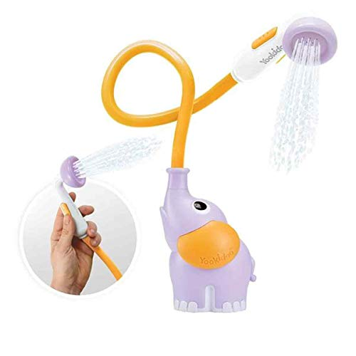 Yookidoo Bebés - Juguete de Baño Elefante Lila
