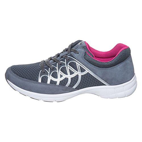 Donne Sneaker Gabor Sport 64.350.43 grigio / ghiaccio / argento Anthrazit