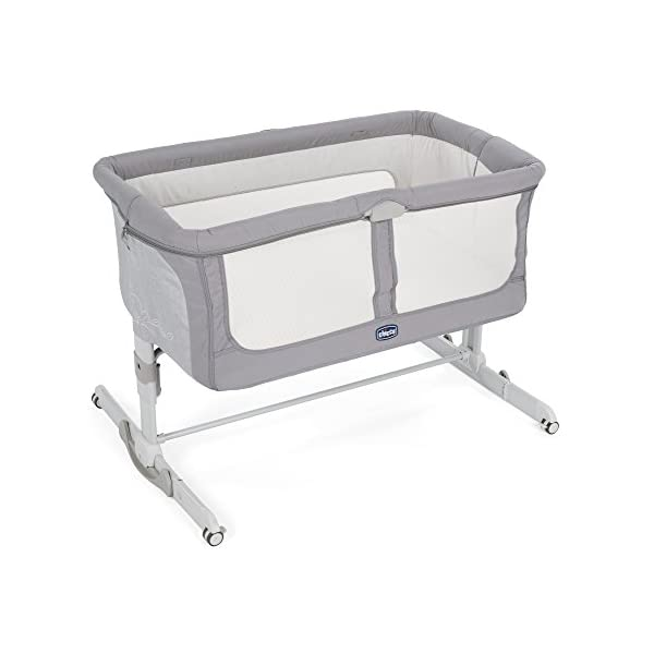 Chicco NEXT2ME Dream Crib - Graphite  The chicco next2me dream is the 3 in 1 solution and can be used as side-sleeping crib, as a stand-alone crib or as travel crib. Allows baby to sleep in your room for the first six months. 1-hand opening mechanism to easily change from side-sleeping to stand-alone configuration 1