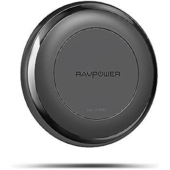 ravpower chargeur sans fil rapide pour iphone 8 8 plus. Black Bedroom Furniture Sets. Home Design Ideas