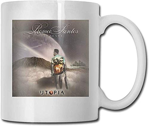 Utopia Romeo Santos Coffee Mug Ceramic Cup Gift for Men and Women Who Love Mug