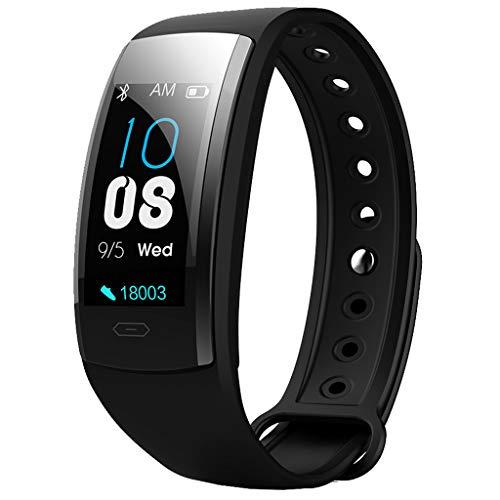 YEARNLY Smart Armband Armbanduhr Pulsuhr Blutdruck Messgerät Watch Bracelet Fitness Wasserdicht Ip67 Farbbildschirm Aktivitätstracker Uhr SchrittzäHler Für Damen Herren