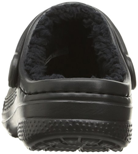 crocs Unisex-Kinder Winter Clog Kids, Navy Electric Blue Black/Black