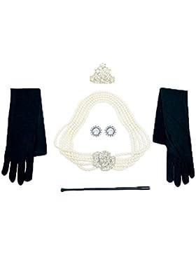 Gioielli e set di accessori di Audrey Hepburn in Colazione da Tiffany,