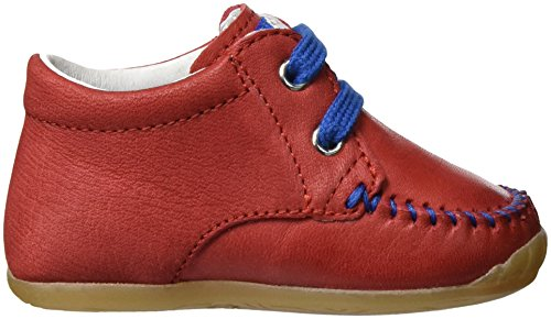Falcotto Baby Jungen 1551 Sneakers Rot (Rot)