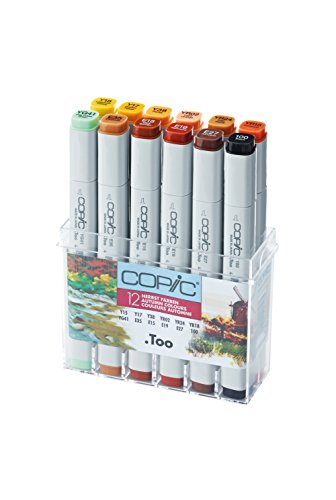 Copic Marker - Herbstfarben - 12er Set